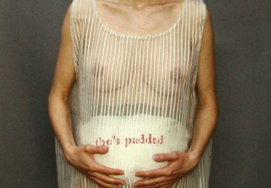 Pregnant art
