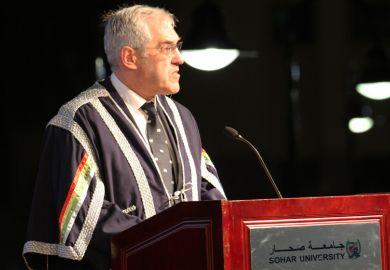 Professor Barry Winn, Sohar University