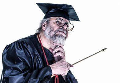 A university professor