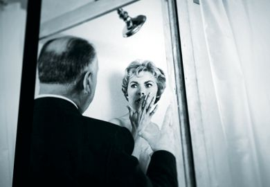 Still from the movie Psycho