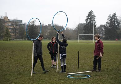 Oxford University quidditch team
