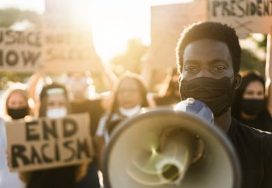 An anti-racism campaigner