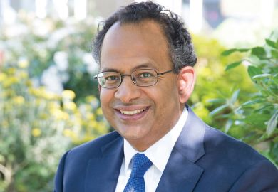 Rama Thirunamachandran, the vice-chancellor of Canterbury Christ Church University