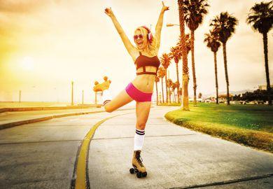 Rollerskater in Los Angeles