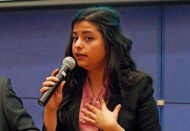 Sana Mustafa, Syrian student