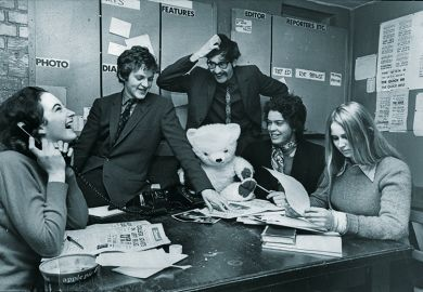 Reporters at Cherwell newspaper, University of Oxford