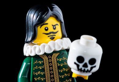 Shakespeare 'The Thespian' Lego character