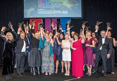 THE Awards 2016 winners