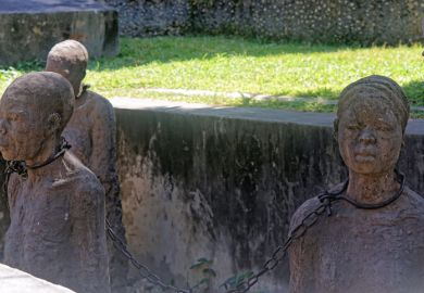 Slave trade monument