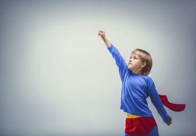 Small superhero