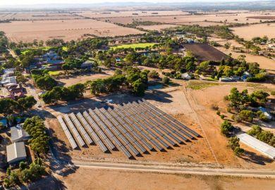 Roseworthy solar farm, University of Adelaide