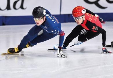 speed-skaters
