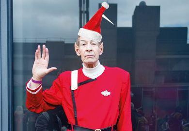 Spock Santa