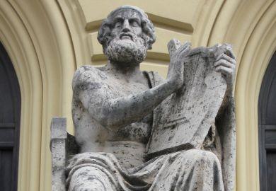 Statue of Homer, Bavarian State Library, Munich