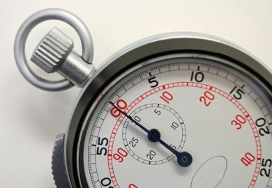 Stopwatch close-up (detail)