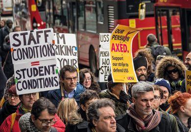 pension strike