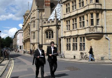 Students at Oxford University