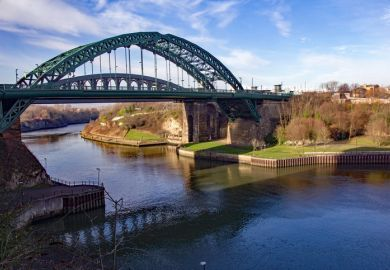 Wearmouth Bridge in Sunderland