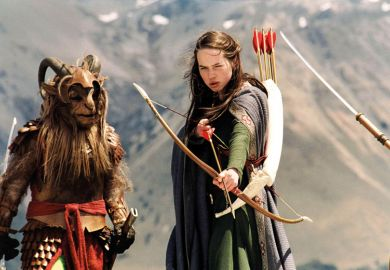 Susan Pevensie in a still from Narnia film