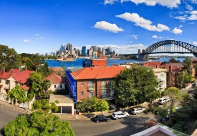 A wealthy district of Sydney