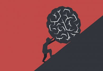Illustration of Sisyphus