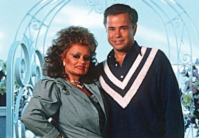 Televangelists Tammy Faye and Jim Bakker