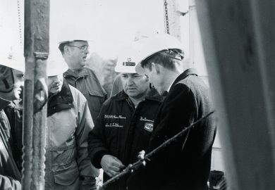 Texaco workers at Thorn Hill Farm