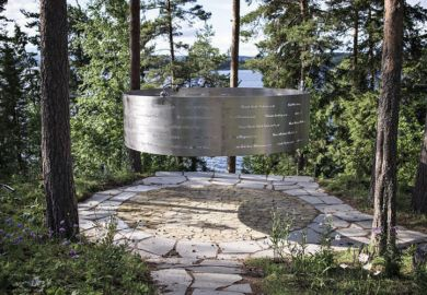 The Clearing memorial, 3RW, Utøya, Norway