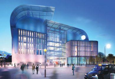 The Francis Crick Institute building, concept illustration