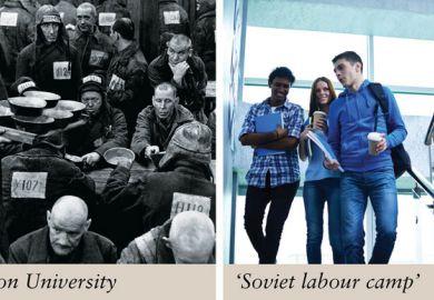 Poppleton University v Soviet labour camp