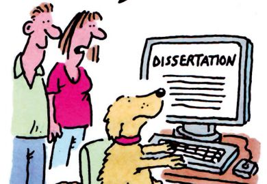 The week in higher education cartoon (16 July 2015)