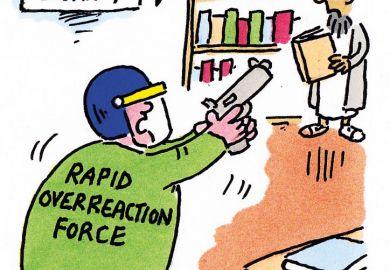 The week in higher education cartoon (1 October 2015)