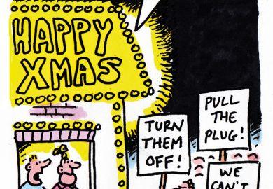 The week in higher education cartoon (24/31 December 2015)