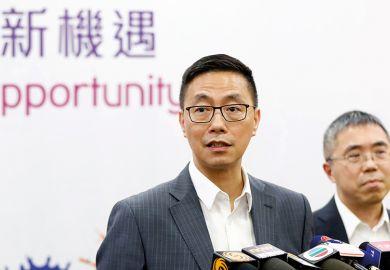 Hong Kong's secretary for education, Kevin Yeung Yun-hung