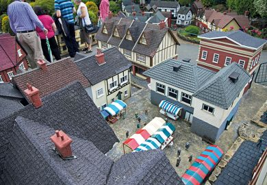 Beconscot Model Village, Beaconsfield, Buckinghamshire, England.