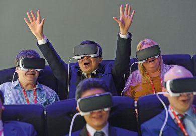 group test virtual reality