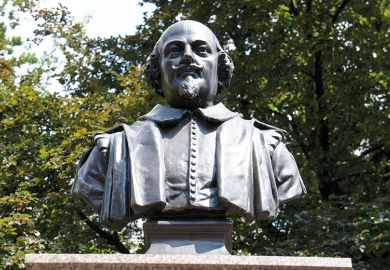 Statue of Shakespeare
