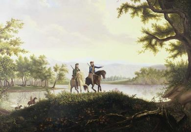 Lewis and Clark Expedition by American artist Thomas Mickell Burnham
