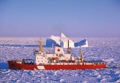 Canadian icebreaker ship