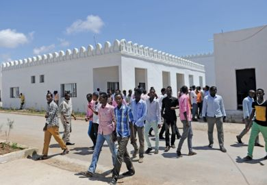 Somali National University students, Mogadishu