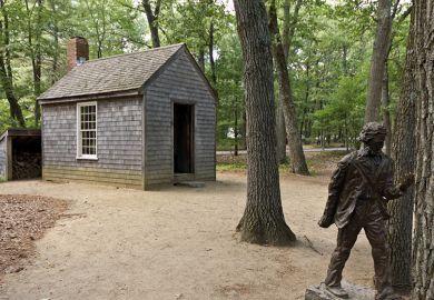 Thoreau cabin