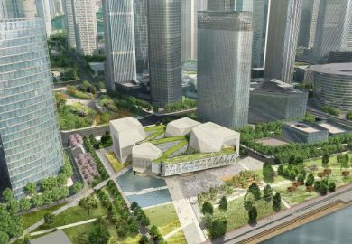 Artist's impression of Tianjin Juilliard