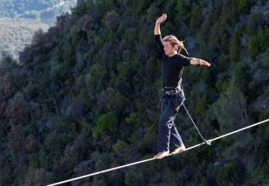 Tightrope walker