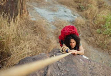 tough climb