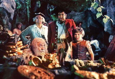 Treasure Island film still, 1950