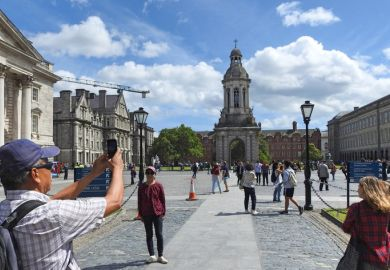 """Trinity College Dublin: Mr Higgins speculated whether universities might become """"the tourist attractions of the future"""""""