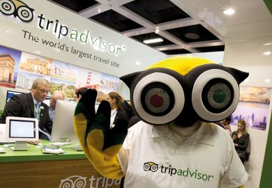 TripAdvisor owl mascot