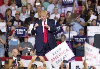 Trump rally getty