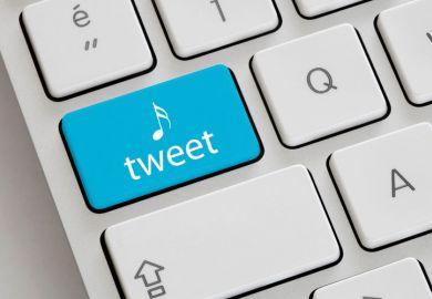 Twitter tweet button on Apple Mac keyboard