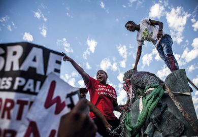 Removing Cecil John Rhodes statue at University Cape Town